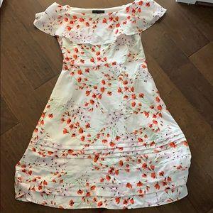 Banana Republic Off-Shoulder Floral Dress